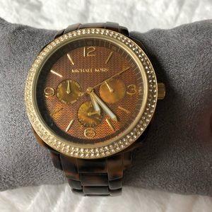 Michael Kors Boyfriend Tortoise Watch